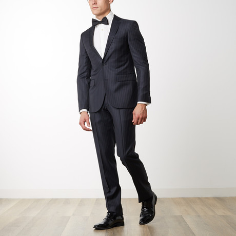 Merino Wool Suit // Charcoal (US: 36R)