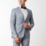 Merino Wool Suit // Light Gray (US: 38R)