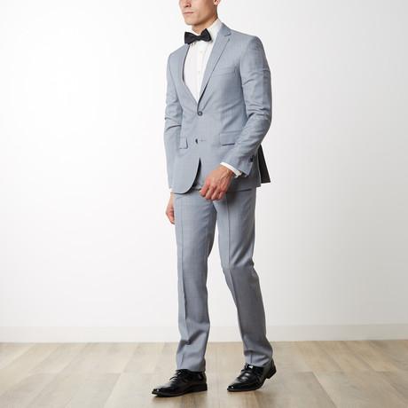 Merino Wool Suit // Light Gray (US: 36R)