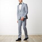 Merino Wool Suit // Light Gray (US: 40R)