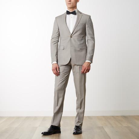 Merino Wool Suit // Beige (US: 36R)
