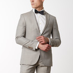 Merino Wool Suit // Beige (US: 52R)
