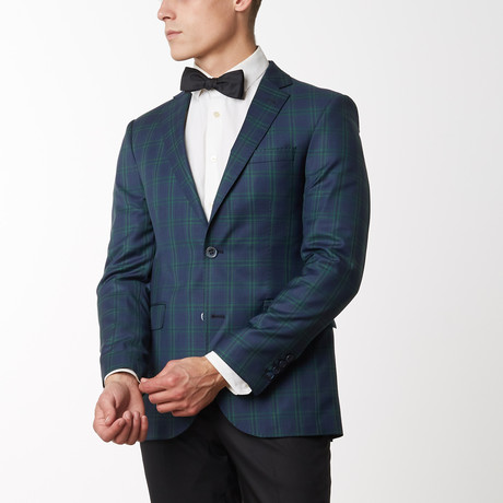 Merino Wool Sport Jacket // Navy Green (US: 36R)