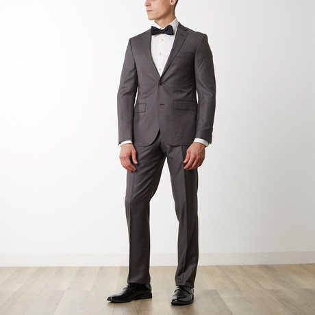 Merino Wool Suit // Brown (US: 36R)
