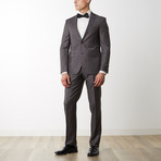 Merino Wool Suit // Brown (US: 48R)