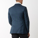 Merino Wool Sport Jacket // Navy Green (US: 48R)