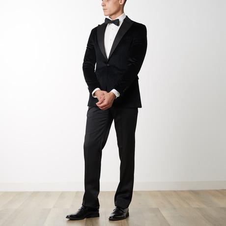 Cotton Velvet Tuxedo // Black (US: 36R)