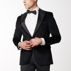 Cotton Velvet Tuxedo // Black (US: 36R)