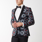 Summer Time Shine Shawl Lapel Tuxedo // Black (US: 48R)
