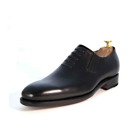 Andrew Lace-up Loafer // Black (US: 7)