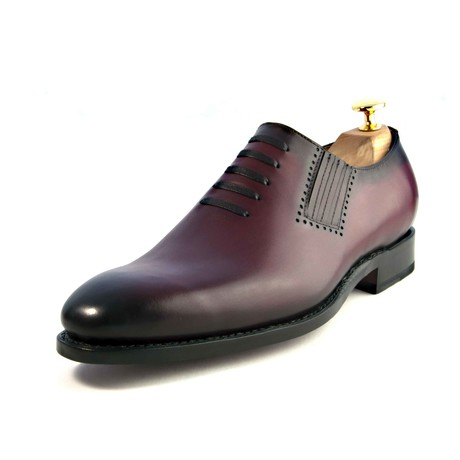 Andrew Lace-up Loafer // Burgundy (US: 7)