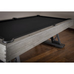 Ambassador Pool Table // 8' // Gray
