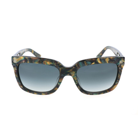 ET611S 320 Woman Sunglasses // Marble Olive