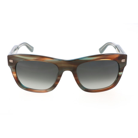 ET605S 416 Man Sunglasses // Striped Petrol