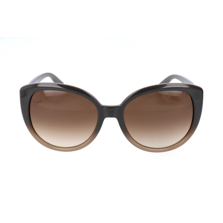 Women's ET602S-216 Sunglasses // Gradient Brown