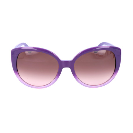 Women's ET602S-535 Sunglasses // Gradient Violet