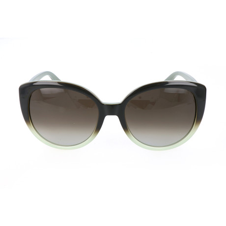 Women's ET602S-337 Sunglasses // Gradient Green
