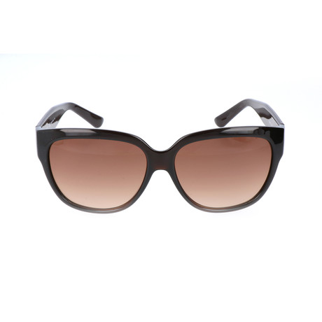 Women's ET606S-210 Sunglasses // Brown