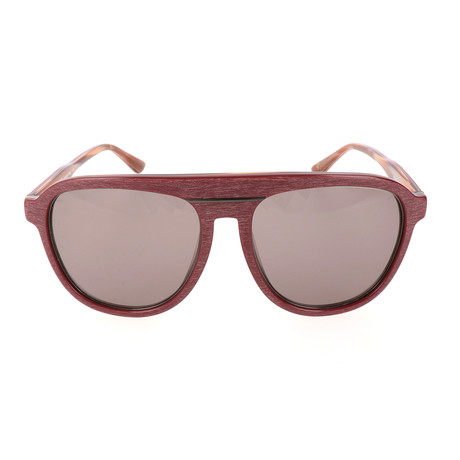 Men's ET625S-612 Sunglasses // Bordeaux + Horn