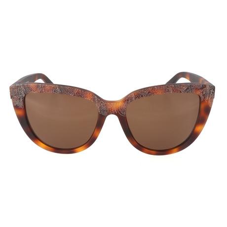 ET619S 228 Woman Sunglasses // Mat Havana Paisley
