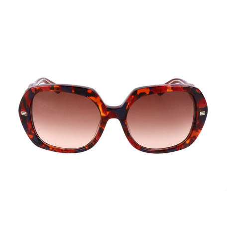 Women's ET618S-224 Sunglasses // Bordeaux Havana