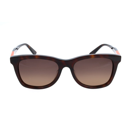 Unisex ET632S-202 Sunglasses // Dark Havana + Orange