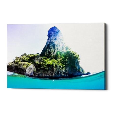 """Tropical Island (12""""W x 18""""H x 0.75""""D)"""