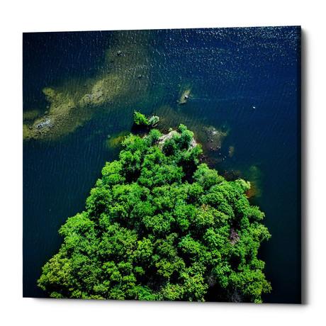 """Archipelago Island (18""""W x 18""""H x 0.75""""D)"""