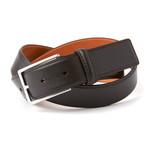 "Genuine Smooth Portofino Lamb Leather Belt // Brown (32"" Waist)"