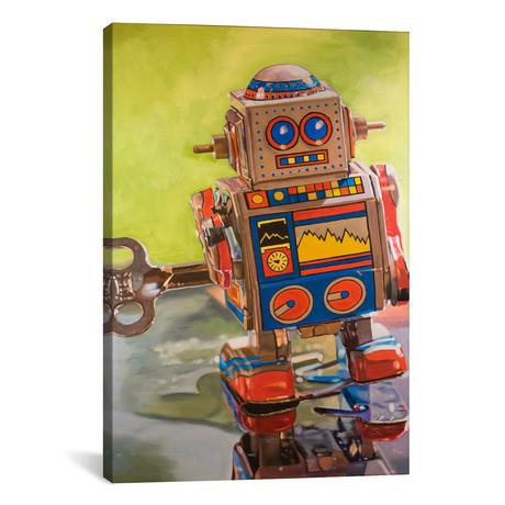 """Mini Robot // Andrea Alvin (26""""W x 18""""H x 0.75""""D)"""