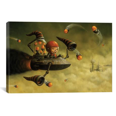 """Good Fortune // Bob Dob (18""""W x 26""""H x 0.75""""D)"""