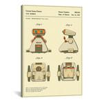 "Hiroshi Horiuchi // Tomy Kogyo, Inc. // Toy Robot I // Jazzberry Blue (26""W x 18""H x 0.75""D)"