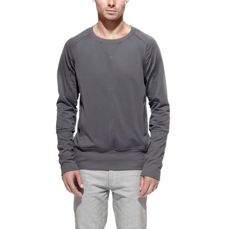 Track Sweatshirt // Steel (S)
