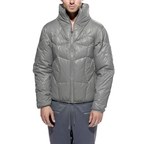 Jugar Shiny Cire Down Jacket // Silver (S)