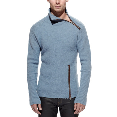Jugar Merino Wool Turtle Neck Sweater // Slate (S)