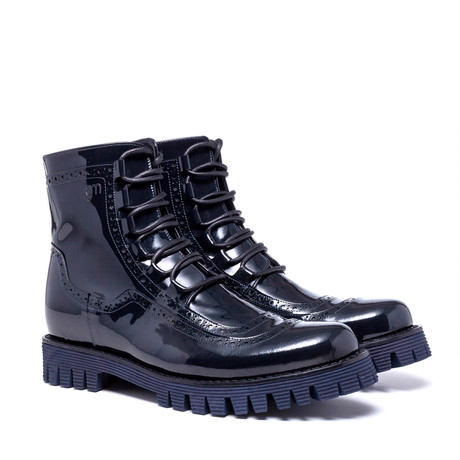 Brighton Boot // Blu Navy (US: 7)