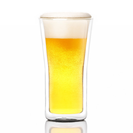Lager Double Walled Glass