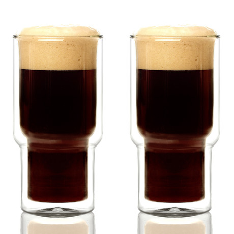 Pint Double Walled Glass // Set of 2