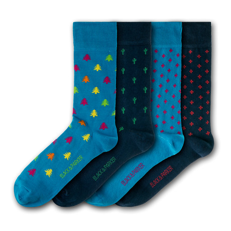 Tremeer Socks // Set of 4