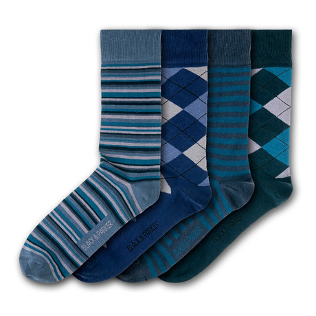 Trerice Socks // Set of 4