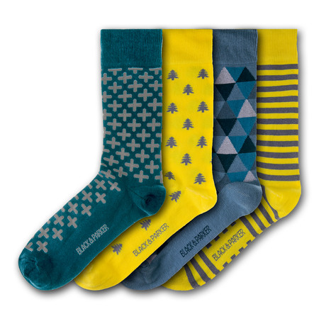 Tresco Abbey Socks // Set of 4
