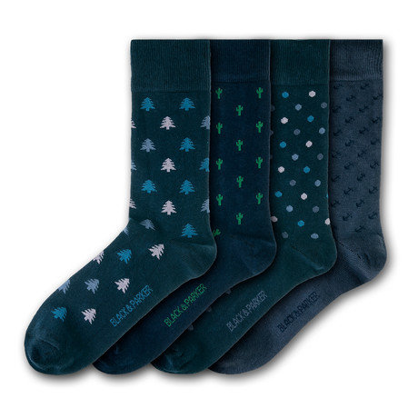 Isles of Scilly Socks // Set of 4