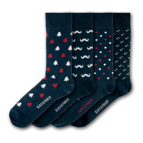 Holehird Gardens Socks // Set of 4