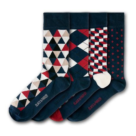 Holker Hall Socks // Set of 4