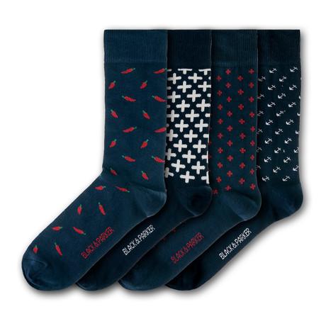 Levens Hall Socks // Set of 4