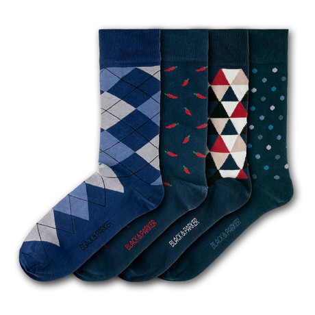 Chatsworth Socks // Set of 4