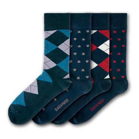 Escot Park Socks // Set of 4