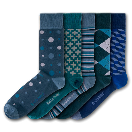 Killerton Socks // Set of 5