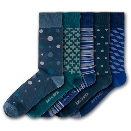 Tapeley Park Gardens Socks // Set of 5