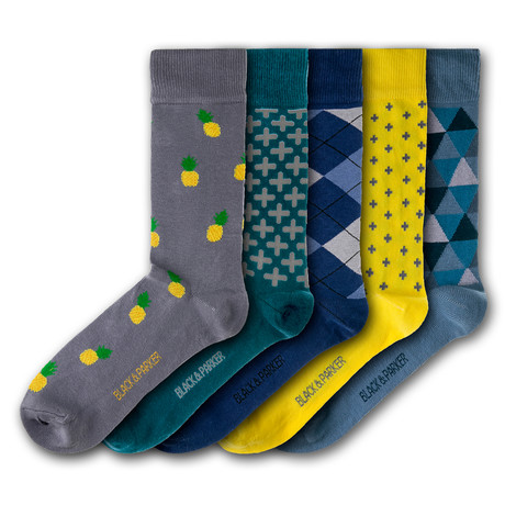 Winsford Walled Garden Socks // Set of 5